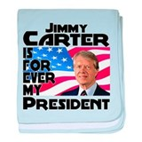 Jimmy Carter My President baby blanket