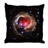 Red Supergiant Throw Pillow