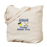 Aidan - Future Hockey Star Tote Bag