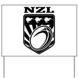 rugby new zealand Yard Sign
