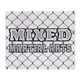 Mixed Martial Arts Throw Blanket