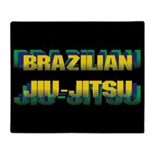 Jiu Jitsu Throw Blanket