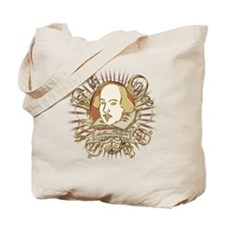 Shakespeare Crest Tote Bag