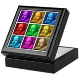 Shakespeare Pop Art Keepsake Box
