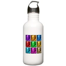 Shakespeare Pop Art Water Bottle