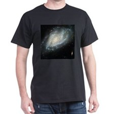 Spiral Galaxy Black T-Shirt