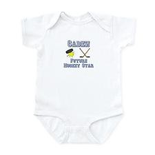 Caden - Future Hockey Star Infant Bodysuit