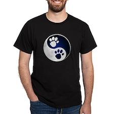Paw Ying Yang T-Shirt