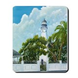 Key West Lighthouse Mousepad