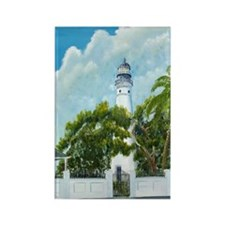 Key West Lighthouse Rectangle Magnet (100 pack)