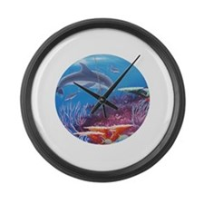 Cute Randall brewer Large Wall Clock