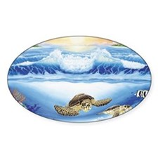 Turtle Haven Decal
