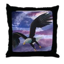Freedom Eagle Throw Pillow