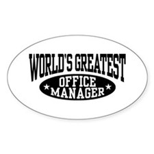 Office Manager Decal