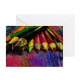 Colored Pencils Greeting Cards (Pk of 10)
