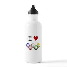 I LUV BINGO Water Bottle