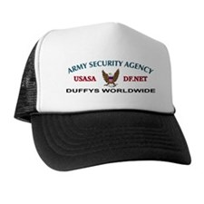 Duffys Worldwide Eagle Trucker Hat