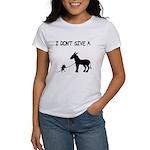 I Don't Give A Rat's Ass Women's T-Shirt