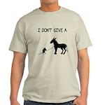 I Don't Give A Rat's Ass Light T-Shirt