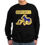 I Don't Give A Rat's Ass Sweatshirt (dark)