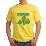 I Don't Give A Rat's Ass Yellow T-Shirt