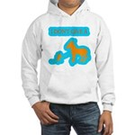 I Don't Give A Rat's Ass Hooded Sweatshirt
