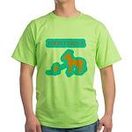 I Don't Give A Rat's Ass Green T-Shirt