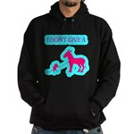 I Don't Give A Rat's Ass Hoodie (dark)