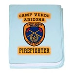 Camp Verde Fire Dept baby blanket
