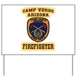 Camp Verde Fire Dept Yard Sign