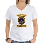 Camp Verde Fire Dept Women's V-Neck T-Shirt