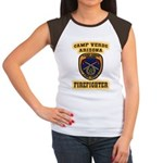Camp Verde Fire Dept Women's Cap Sleeve T-Shirt