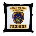Camp Verde Fire Dept Throw Pillow