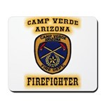 Camp Verde Fire Dept Mousepad