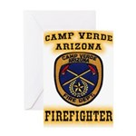 Camp Verde Fire Dept Greeting Card