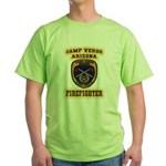 Camp Verde Fire Dept Green T-Shirt