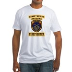 Camp Verde Fire Dept Fitted T-Shirt