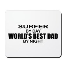 World's Greatest Dad - Surfer Mousepad