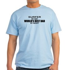 World's Greatest Dad - Surfer T-Shirt