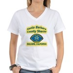 Solvang Police Women's V-Neck T-Shirt