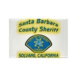 Solvang Police Rectangle Magnet