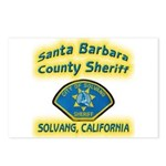 Solvang Police Postcards (Package of 8)