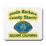 Solvang Police Mousepad