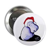 "Holiday Hippo 2.25"" Button (100 pack)"