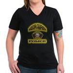 Maricopa Police Women's V-Neck Dark T-Shirt