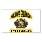 Maricopa Police Sticker (Rectangle 10 pk)