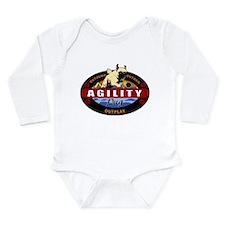 Survivor Pug Long Sleeve Infant Bodysuit