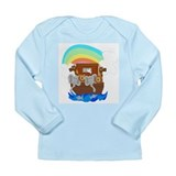 Noah's Ark Long Sleeve Infant T-Shirt