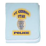 St George Police baby blanket