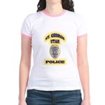 St George Police Jr. Ringer T-Shirt